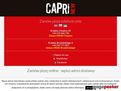 Tania pizza na telefon Kraków