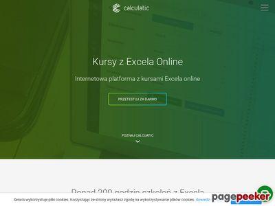 Szkolenia Excel z Calculatic