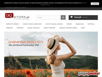 DQstore.pl - sklep z modnymi dodatkami
