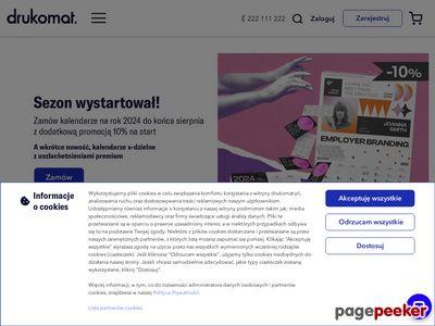 Tani druk ulotek, plakatów i wizytówek - drukarnia online