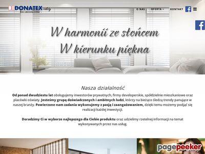 Donatex - remonty - rolety - Warszawa