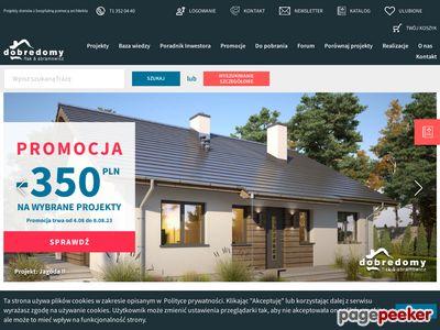 Dobredomy.pl - projekty domów parterowych