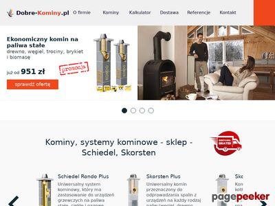 Kominy sklep - dobre-kominy.pl
