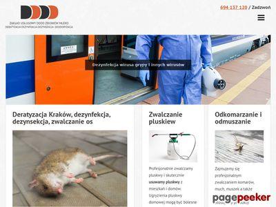 Dezynsekcja Kraków | Deratyzacja, Dezynfekcja i HACCP