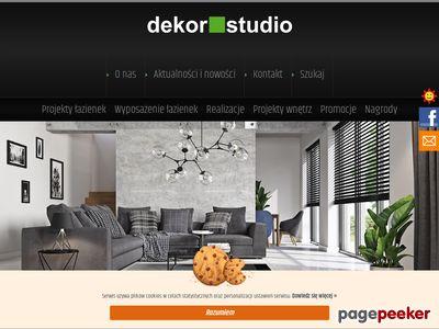 Projektowanie Łazienek Dekor Studio