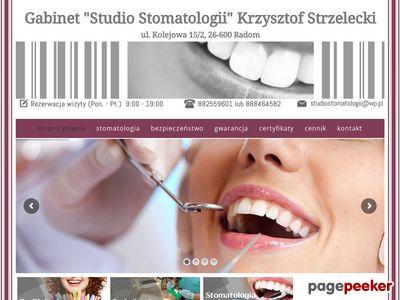 Studio Stomatologii Krzysztof Strzelecki - Dentysta Radom