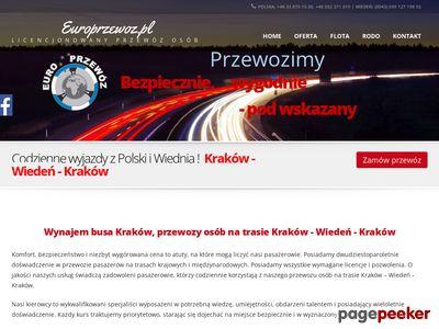 Euro-Przewóz - transport paczek i osób
