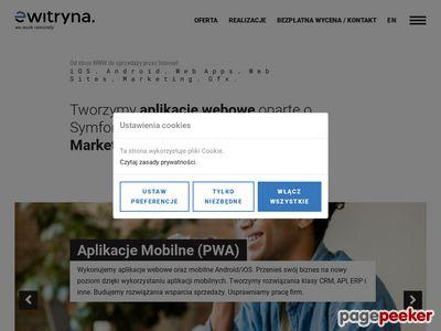 Strony Internetowe Warszawa, Ewitryna Sp.j.