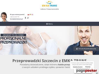 EM-KA TRANS przeprowadzki domów szczecin