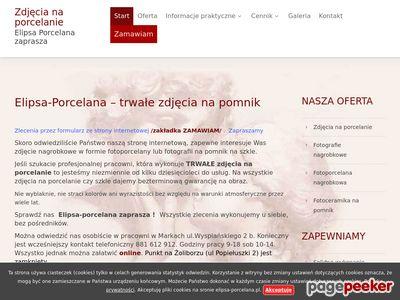 Zdjęcia na porcelanie Warszawa
