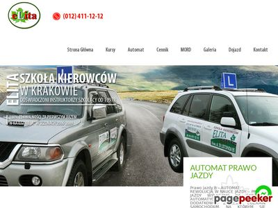 Prawo jazdy Kraków - Elita