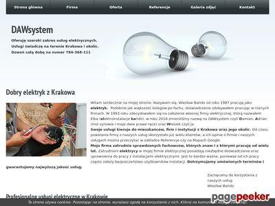 Elektrosystem Andrzej Zdeb - elektryk w Krakowie