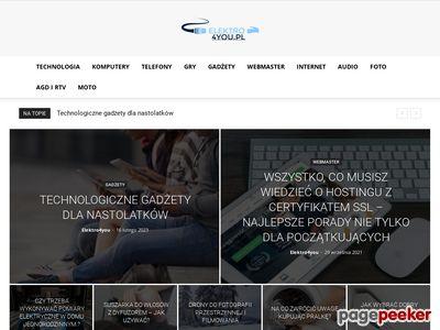 Komputery, RTV, AGD, Foto - www.elektro4you.pl