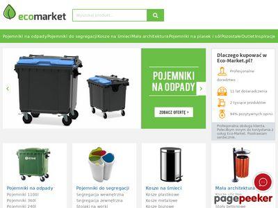 Kosze na śmieci i pojemniki na odpady: Eco Market