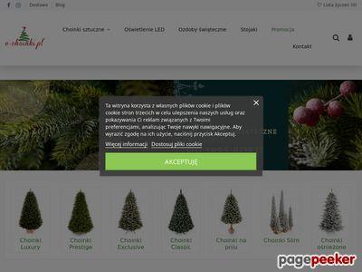 E-choinki.pl, sklep ze sztucznymi choinkami