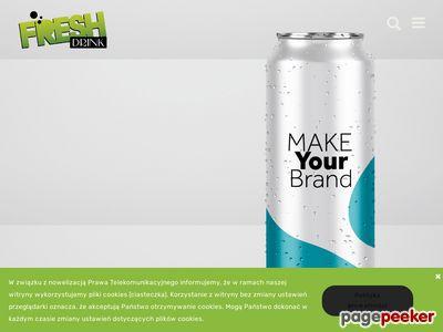Freshdrink.pl - napoje izotoniczne