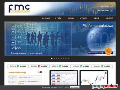 FMC Management - Platforma Walutowa, Doradztwo Walutowe
