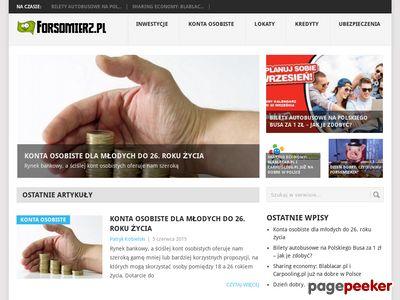 Forsomierz.pl - Zarabianie, oszczędzanie, inwestycje