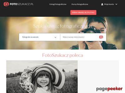Wyszukiwarka usług fotograficznych