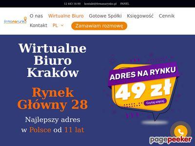 Adresy dla firm - Wirtualne biuro Kraków
