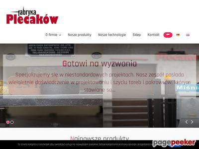 Fabryka Plecaków - producent toreb i plecaków