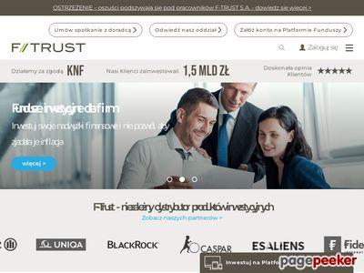 F-Trust - fundusze akcji