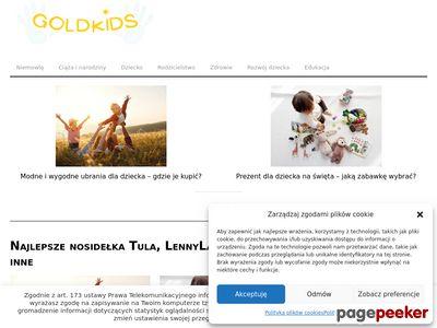 Ekologiczne kosmetyki dla dzieci - GoldKids.pl