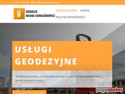Usługi geodety w Wodzisławiu Śląskim