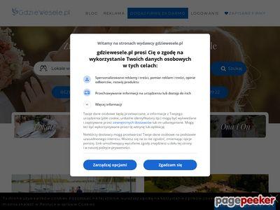 Sale weselne w twoim regionie GdzieWesele.pl