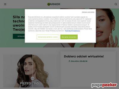 Oferta kosmetyków na www.garnier.pl