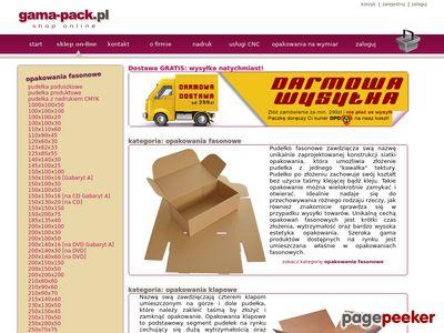 Kartony i pudełka – Gama-Pack