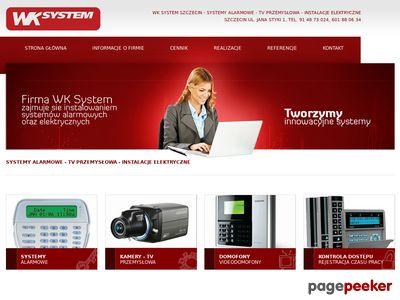 Domofony i inne produkty WKSystem z miasta Szczecin