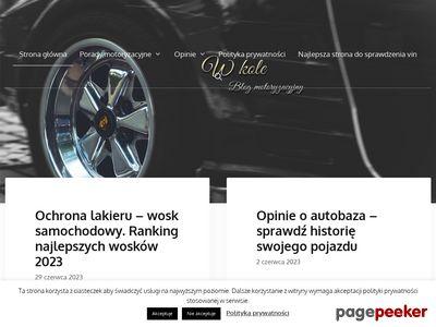 Motocykle i motocykliści na Wkole.pl