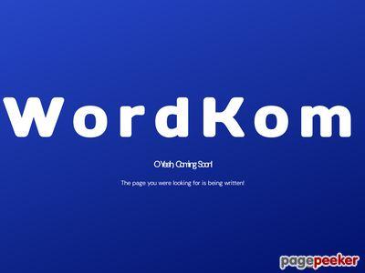 Wordkom tani hosting, tanie domeny, dobry hosting