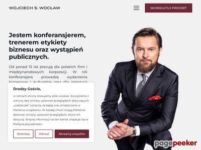 Konferansjer Wojciech S. Wocław