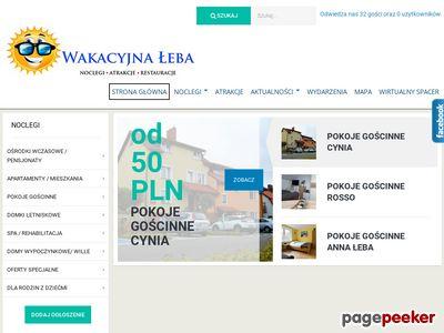Pokoje łeba - Portal Turystyczny