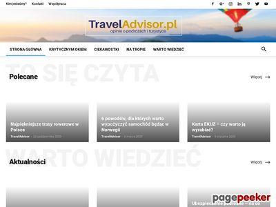 TravelAdvisor.pl - serwis turystyczny
