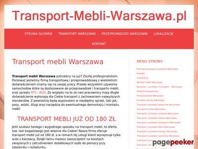 Transport mebli Warszawa