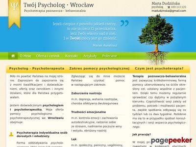 Psycholog we Wrocławiu