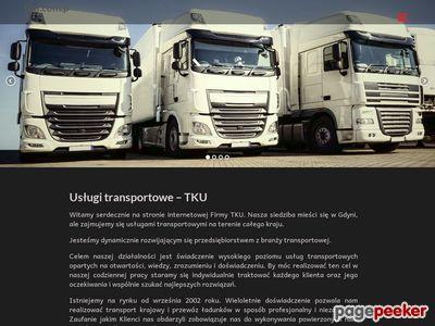 Tku.com.pl : transport krajowy Gdynia