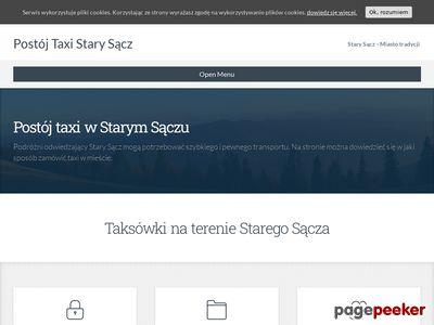 Taxistarysacz.pl