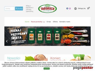 Sklep ze zdrową żywnością - Targroch