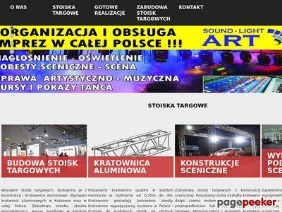 Stoiska targowe cena - targowe.pl