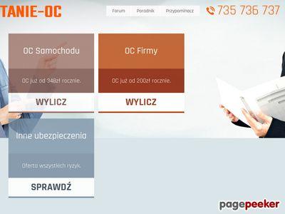 Najtańsze ubezpieczenia - tanie-oc.pl