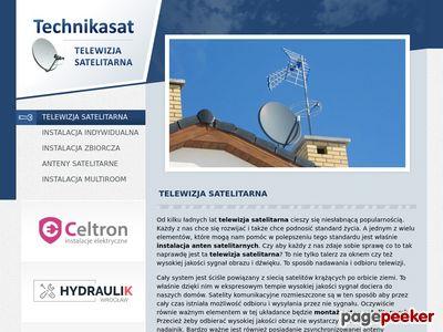 Montaż i Ustawianie anten satelitarnych i DVB-T