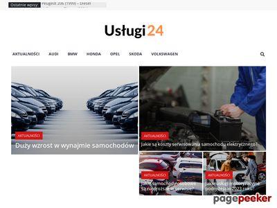 Porównywarka cen usług i fachowców - Uslugi24.pl