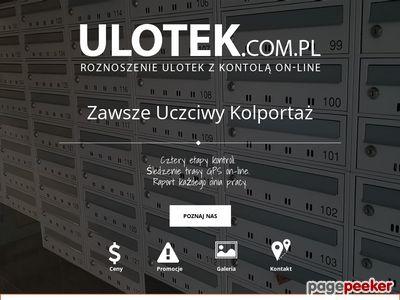 Roznoszenie ulotek w Warszawie