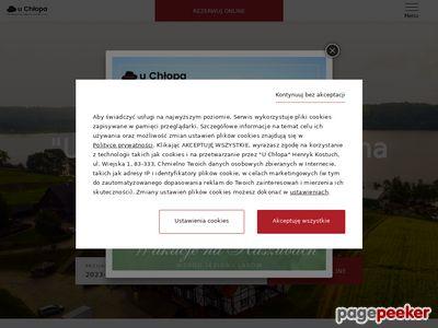 Ośrodek wypoczynkowy Chmielno - sala weselna Kaszuby