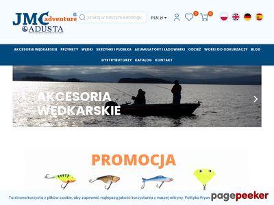 JMC plecionki wędkarskie - jmcadventure.com