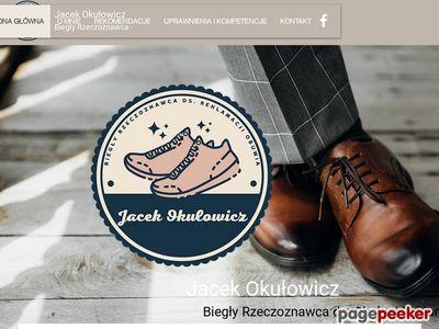Biegły sądowy obuwie - Jacek O.